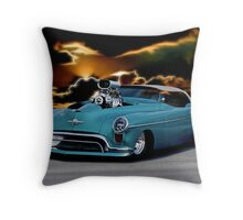 1948 Oldsmobile 'Pro Street' Convertible II Throw Pillow