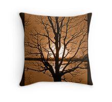 Rivington Sunset Throw Pillow