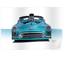 1948 Oldsmobile 'Custom' Convertible I Poster