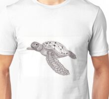 Tangled Sea Turtle Unisex T-Shirt