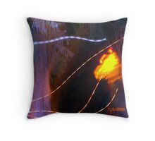 Unsettled Cemetery Throw Pillow