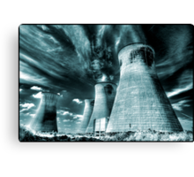 Waiting for Quatermass Canvas Print