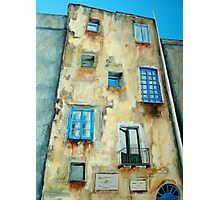 Old Building medieval quarter - Capri Photographic Print