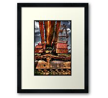 Side-tracked on a Summer Afternoon... Framed Print