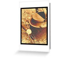 Tin Pan Greeting Card