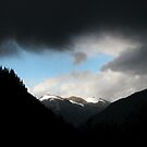 storm brewin' above whistler, bc, canada by christopher  bailey