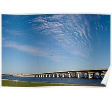 Biloxi-Ocean Springs Bridge Poster