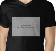 We apologise for this interruption. Mens V-Neck T-Shirt