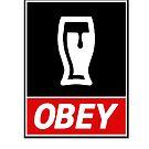 Obey Beer by PaulRoberts