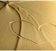 heart in sand by nancynootje