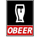 Obey Beer by PaulRoberts