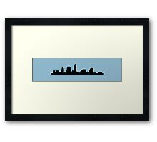 Cleveland Ohio Skyline: I Framed Print