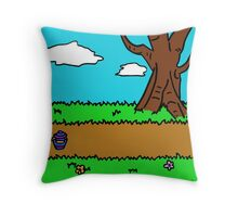 Hundred Acre Wood - Yeh-eun Kang Throw Pillow