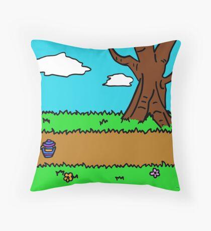 Hundred Acre Wood - Yeh-eun Kang Throw Pillow
