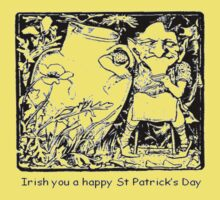 Irish You A Happy St Patricks Day Kids Clothes
