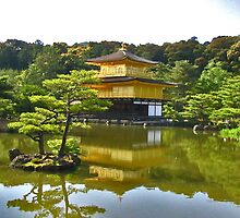 Golden palace - Japan by drabdah