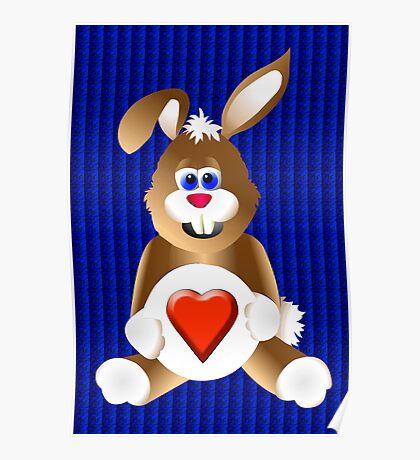 Honey Bunny Love Poster