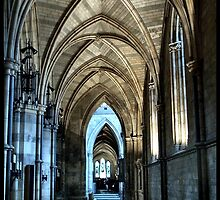 Southwark Cathederal Interior by Jazzdenski