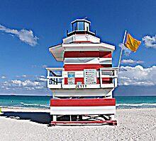 Miami Beach Baywatch by drabdah