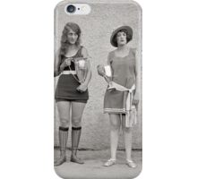Bathing Beauty Contest, 1922 iPhone Case/Skin