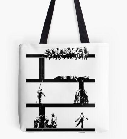 IronWorkers Black Tote Bag