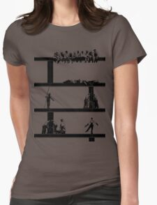 IronWorkers Black Womens Fitted T-Shirt