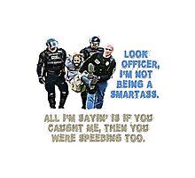 Police t-shirt Photographic Print