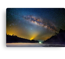 Lighting up the milky way Canvas Print