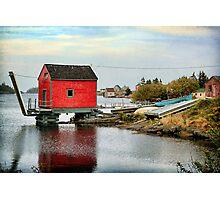 Blue Rocks, Nova Scotia Photographic Print