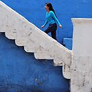 Woman in Blue by Alessandro Pinto