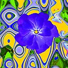 Blue Flower by Orla Cahill