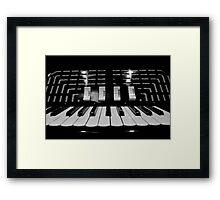 Accordion Framed Print