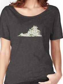 Virginia Flowers Women's Relaxed Fit T-Shirt