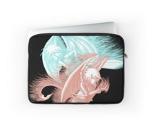 Black Shadow Tag Team Laptop Sleeve
