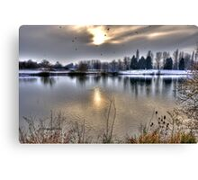 Winter Lake~ Canvas Print