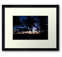 Good night Bali - By Paul Campbell Photography Framed Print