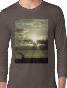 Industrial Sunset Long Sleeve T-Shirt