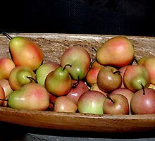 Pears and Apples by MaryAnnexpress