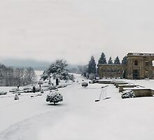 Witley Snow scene by Spencer Trickett