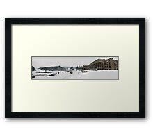 Witley Snow scene Framed Print