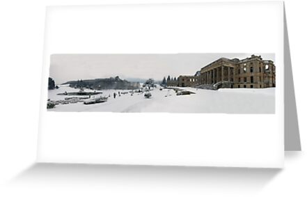 Witley Snow scene by Spencer Trickett