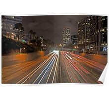 7th street and Harbor freeway Poster