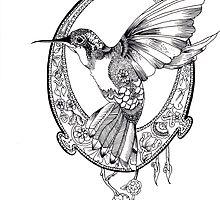 Hummingbird by MollyMoloney