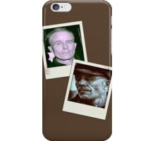 Ed Gein Double Photo Stack iPhone Case/Skin