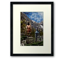 The Last Warrior Framed Print