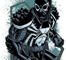 Agent Venom by dlxartist