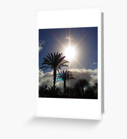 Paradise found Greeting Card