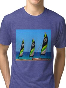 Summer surf! Tri-blend T-Shirt