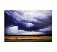 Low Storm Clouds Art Print