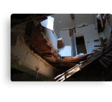 The Asylum: Looking Up Canvas Print